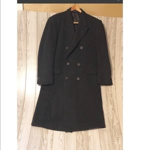 Evan Picone trench wool black made in England